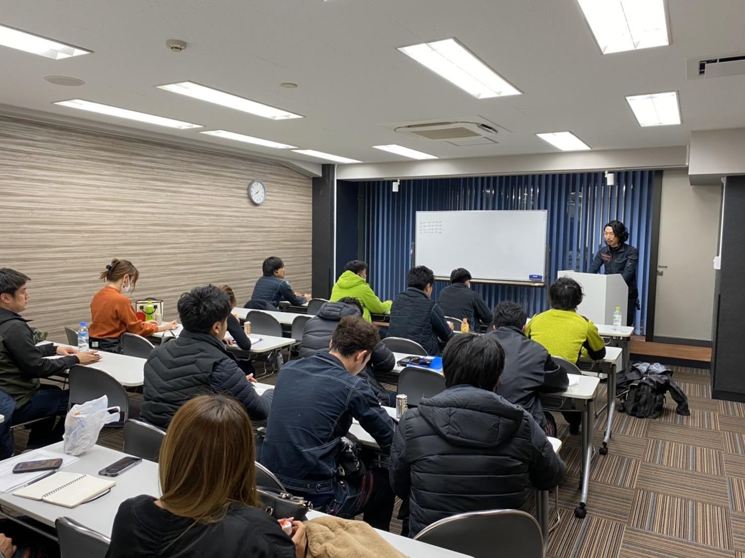 勉強会を実習させて頂きました。
